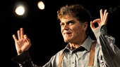 Michael Shannon takes a well-earned opening night bow. He previously starred as the Stage Manager in David Cromer's production of Our Town at the Barrow Street Theater.