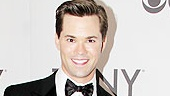 Mormon star Andrew Rannells in Armani. 