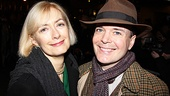 The Best Man star Jefferson Mays and his wife, actress Susan Lyons, assume the roles of audience members at Porgy and Bess.