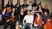 Once Cast Album Recording – Cristin Milioti – Steve Kazee – the cast of <i>Once</I>