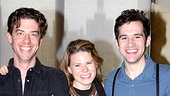As Black Stache, Molly and Boy, Christian Borle, Celia Keenan-Bolger and Adam Chanler-Berat are ready to tell the classic tale of Peter Pan... with a twist.