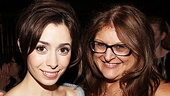 Once opening night  Cristin Milioti  Liz Caplan   