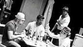 Streetcar Named Desire rehearsal  Jacino Taras Riddick  Blair Underwood  Wood Harris  Matthew Saldivar