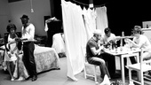 Streetcar Named Desire rehearsal  Nicole Ari Parker  Wood Harris  Jacino Taras Riddick  Blair Underwood  Matthew Saldivar