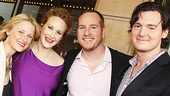 Peter and the Starcatcher Opening Night  Mamie Gummer  Katie Finneran  Darren Goldstein  Benjamin Walker 