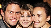 Peter and the Starcatcher Opening Night  Steven Pasquale  Celia Keenan-Bolger  Laura Benanti 