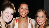 Vanessa Williams Visits Bring It On  Ryann Redmond - Vanessa Williams  Elle McLemore