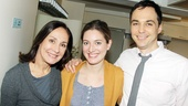 Jim Parsons stops by &#39;The Other Place&#39; - Laurie Metcalf - Zoe Perry - Jim Parsons 