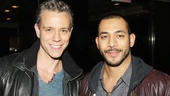 Rent alums Adam Pascal (currently starring in Chicago) and Justin Johnston crash the Motown party.
