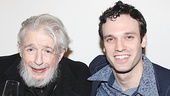 Gerry Goffin with Beautiful star Jake Epstein, who plays Goffin in the musical