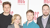 Hand to God - Meet and Greet - Sarah Stiles - Marc Kudisch - Michael Oberholtzer - Geneva Carr - Steven Boyer - Moritz von Stuelpnagel - Robert Askins - Blake West - Bernie Telsey
