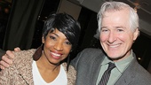 Doubt reunion! After Midnight star Adriane Lenox catches up with Outside Mullingar playwright John Patrick Shanley.
