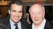 Tony nominee Brian d'Arcy James with Outside Mullingar's Peter Maloney