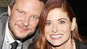 Will Chase and his parents wouldn't miss Debra Messing's Broadway debut!