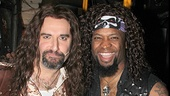 Rock of Ages funny guy Adam Dannheisser & Ahman Green