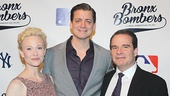 Bronx Bombers co-stars Tracy Shayne, Chris Henry Coffey & Peter Scolari