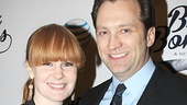 Broadway husband-and-wife duo Kate Baldwin and Graham Rowat enjoy a date night.