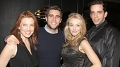 Jessica Phillips and Josh Segarra party with Bullets Over Broadway duo Betsy Wolfe and Nick Cordero.