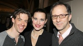Little Me stars Christian Borle & Rachel York with director John Rando