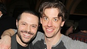 Smash reunion! Choreographer Joshua Bergasse and Christian Borle are thrilled to be working together again on Little Me.