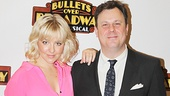 Bullets Over Broadway - Meet and Greet - OP - Heléne Yorke - Brooks Ashmanskas