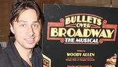 Bullets Over Broadway - Meet and Greet - OP - Zach Braff