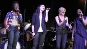 "If/Then stars LaChanze, Idina Menzel, Jenn Colella and Tamika Lawrence sing ""No More Wasted Time."""