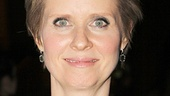 Cynthia Nixon is happy to celebrate the career of Sam Mendes.