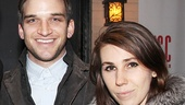 Really Really alums (who have since become  sweethearts!) Evan Jonigkeit and Zosia Mamet enjoy a date night.
