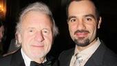 Jean Valjeans unite! Original Les Miz star Colm Wilkinson cheers on Ramin Karimloo.