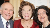 Playwright Terrence McNally, Tyne Daly and director Sheryl Kaller take a lovely parting shot.