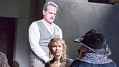 Michael Park as Macheath with Sally Murphy as Jenny & the cast of The Threepenny Opera