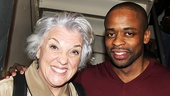 Tony winner Tyne Daly with After Midnight's Dule Hill.