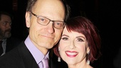 Tony winner David Hyde Pierce & Guys and Dolls star Megan Mullally.