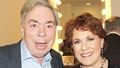 Andrew Lloyd Webber reunites with Broadway's original Tony-winning Carlotta in The Phantom of the Opera, Judy Kaye.