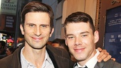 Mothers and Sons star Frederick Weller and Brian J. Smith, last seen on Broadway in The Glass Menagerie, strike a pose.