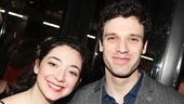 Les Miserables' Julie Benko with Beautiful star Jake Epstein.