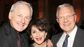 Broadway favorites Victor Garber, Andrea Martin and Walter Bobbie.