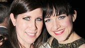 Yitzhaks unite! Hedwig off-Broadway and movie star Miriam Shor takes a snapshot with Broadway star Lena Hall.