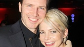 Bill Heck and Michelle Williams play Cliff Bradshaw and Michelle Williams, respectively, inCabaret.