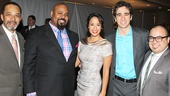 Aladdin stars Clifton Davis, James Monroe Iglehart, Courtney Reed, Jonathan Schwartz and Don Darryl Rivera.