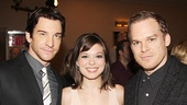 Rocky stars Andy Karl and Margo Seibert with The Realistic Joneses' Michael C. Hall.