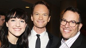 Hedwig stars Lena Hall and Neil Patrick Harris with director Michael Mayer.