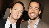 Stage and screen stars Neil Patrick Harris and Zachary Levi.