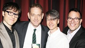 Drama Desk Awards - Op - 5/14 - Stephen Trask - David Binder - John Cameron Mitchell - Michael Mayer