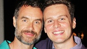 Looking co-stars Murray Bartlett & Jonathan Groff.