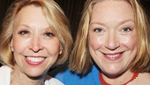 Fab funny ladies Julie Halston and Kristine Nielsen.