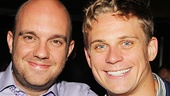 Sex with Strangers star Billy Magnussen hangs out with his pal Eddie McGinty.