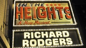 In the Heights Closing Night  marquee 