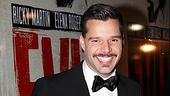 Ricky Martin's seductive smile says it all: Evita is back!